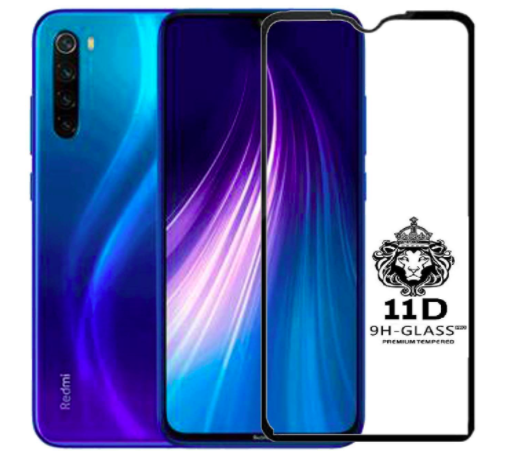 11D Tempered Glass for Redmi Note 8