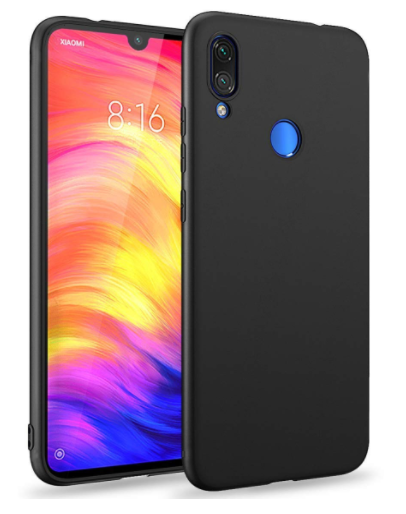 redmi note 7 pro back cover with camera protection