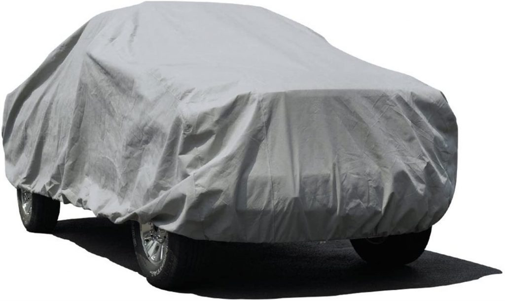 Budge Lite Truck Cover With Camper Shell