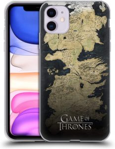 Game Of Thrones Iphone 11 Case Westeros Map