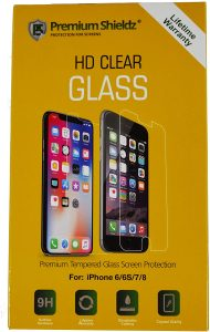 Premium Shieldz Hd Clear Glass Screen Protector For Iphone 6:6s:7:8