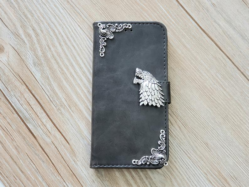 Stark Leather Handmade Game Of Thrones Cover