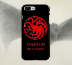 Targaryen X Fire And Blood Game Of Thrones Iphone Case