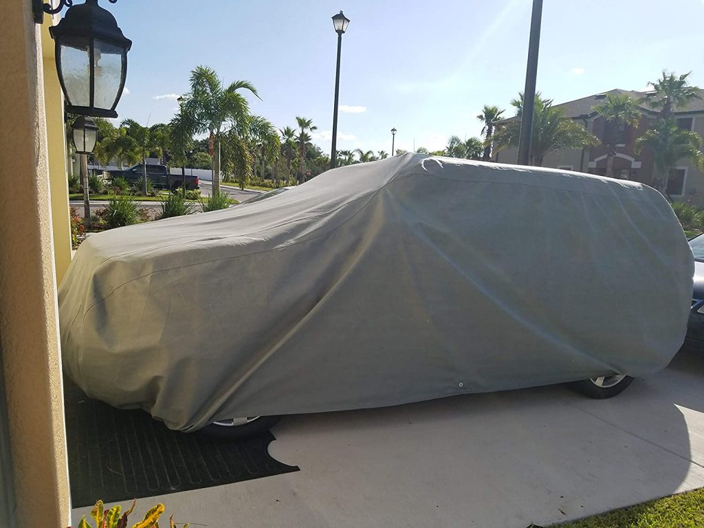Weatherproof Truck Cover With Camper Shell