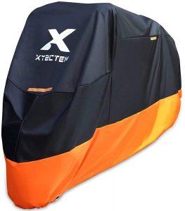 Xyzctem Motorcycle All Season Waterproof Outdoor Bike Cover